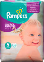 Pampers Active Fit Подгузники Размер 5 Юниор 11-25 kg, 23 шт