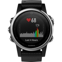 GPS heat rate monitor watch with built-in sensor Garmin fenix 5S Bluetooth