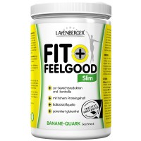 LAYENBERGER (ЛАИЕНБЕРГЕР) Fit + Feelgood Slim Banane-Quark 430 г