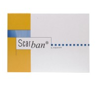 Scarban (Скэрбан) Light Silikonverband 5 x 7,5 cm 2 шт