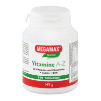 MEGAMAX (МЕГАМАКС) Nutrition Vitamine A-Z 100 шт