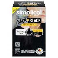 Simplicol Textilfarbe Back to Black Farberneuerung Обновитель цвета чёрный, 400 г