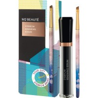 M2 BEAUTE M2Brows Eyebrow Renewing Serum, Geschenkset Подарочный набор: Eyebrow Renewing Serum 5 мл + Eyebrow Brush / 1 шт.