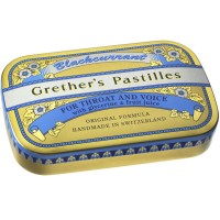 Grether's (Гретер'с) Blackcurrant Gold zuckerhaltige Pastillen 60 г