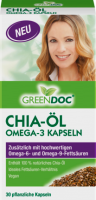 Green Doc Чиа семена Масло Omega 3 Капсулы, 30 шт