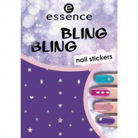 essence Bling Bling Nail Stickers 1 Набор Nr. 01 bling bling