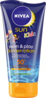NIVEA SUN Крем для загара Kids Swim+Play LSF50+, 150 мл