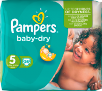 Pampers Baby-Dry Подгузники Размер 5 Юниор 11-25 kg, 26 шт