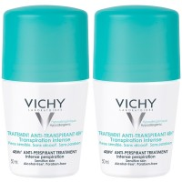 VICHY (ВИШИ) Deo Roll on Anti Transpirant 48h Doppelpack 2X50 мл