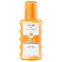 EUCERIN (ЭУЦЕРИН) Sensitive Protect Sun Spray Transparent LSF 30 + 20 ml Eucerin SUN Oil Control GRATIS 200 мл