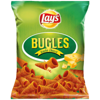 Lays (Лейс) Bugles Nacho Cheese Начос с сыром 100г