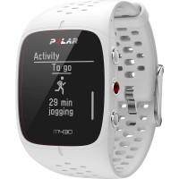 GPS heat rate monitor watch with built-in sensor Polar M430 WHITE Gr. S Blueto