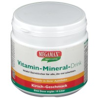MEGAMAX (МЕГАМАКС) Nutrition Vitamin-Mineral-Drink Kirsch-Geschmack 350 г