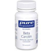 pure (пьюр) encapsulations Beta Carotin 30 шт