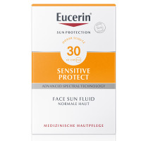 EUCERIN (ЭУЦЕРИН) Sensitive Protect Face Sun Fluid LSF 30 50 мл
