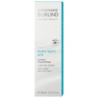 ANNEMARIE BORLIND PURA SOFT Q10 Augencreme Aquanature, 15 мл