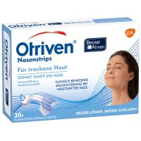 Otriven (Отривен) Besser Atmen Nasenstrips normal transparent 30 шт