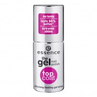 essence The Gel Лак для ногтей Top Coat Лак для верхнего слоя 8 г