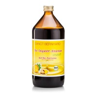 Kraueterhaus Sanct Bernhardt Organic Ginger & Pineapple Juice, 1 литр