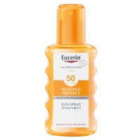 EUCERIN (ЭУЦЕРИН) Sensitive Protect Sun Spray Transparent LSF 50 + 20 ml Eucerin SUN Oil Control GRATIS 200 мл