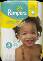Pampers Premium Protection Подгузники Размер 5 Юниор 11-23 kg, 20 шт