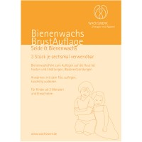 Bienenwachs (Биненвахс) BrustAuflage Seide & Bienenwachs & WolleVlies 3 шт