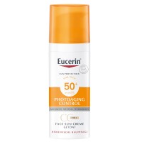 EUCERIN (ЭУЦЕРИН) Photoaging Control Face Sun CC Creme getont LSF 50+ hell 50 мл