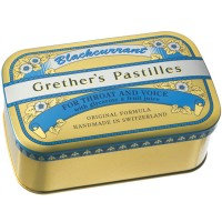 Grether's (Гретер'с) Blackcurrant Gold zuckerhaltige Pastillen 440 г
