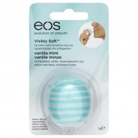 eos Visibly Soft Бальзам для губ Vanille Minze 7 г