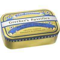 Grether's (Гретер'с) Blackcurrant Gold zuckerhaltige Pastillen 110 г