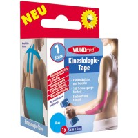 WUNDmed (Вундмед) Kinesiologie-Tape blau 5 cm x 5 m 1 шт