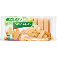 REWE Bio Loffelbiscuits Био Бисквиты 125г
