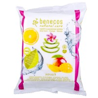 benecos (Бенекос) Natural Happy Cleansing Wipes Gesichtsreinigungstuch Gesicht, 25 шт.