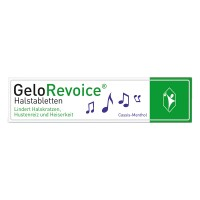 GeloRevoice (Гелоривоис) Halstabletten Cassis-Menthol 20 шт