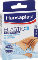Hansaplast Пластырь пластинки Elastic Waterproof wasserdicht, 20 шт