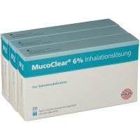 MucoClear (Мукоклир) 6% Inhalationslosung 60X4 мл