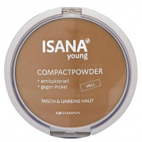 ISANA Young Compact Powder Пудра hell 9 г