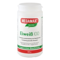 MEGAMAX (МЕГАМАКС) Nutrition Eiweiss 100 Cappuccino-Geschmack 400 г
