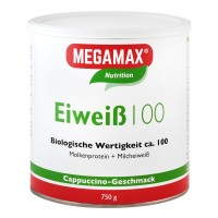 MEGAMAX (МЕГАМАКС) Nutrition Eiweiss 100 Cappuccino-Geschmack 750 г