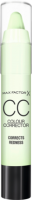 Max Factor СС Крем Colour Correcting stick green - Redness, 3,3 г
