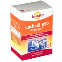 Sanhelios (Санхелиос) Lachsol 850 Omega 3 80 шт