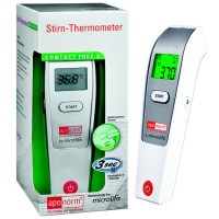aponorm (апонорм) Fieberthermometer Stirn Contact-Free 3 1 шт
