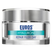 EUBOS (ЕУБОС) HYALURON Repair Filler Day Creme + 6 ml Hyaluron 3D Booster GRATIS 50 мл