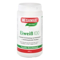 MEGAMAX (МЕГАМАКС) Nutrition Eiweiss 100 Vanille-Geschmack 400 г