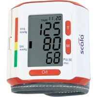 Wrist Blood pressure monitor Измеритель давления Scala SC 6400 2184