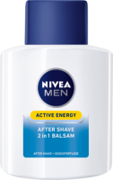 NIVEA MEN после бритья Active Energy 2 in 1, 100 мл