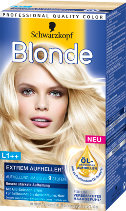 Braunes aufheller haar für Blonde LD