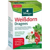 Kneipp (Кнайпп) Weissdorn Dragees 240 шт