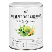 nu3 (ну3) Bio Superfood Smoothie Daily Greens 100 г