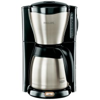 Кофеварка Coffee maker Philips Gaia Therm Stainless steel, Black 1000 W Cup volume=15 Thermal jug